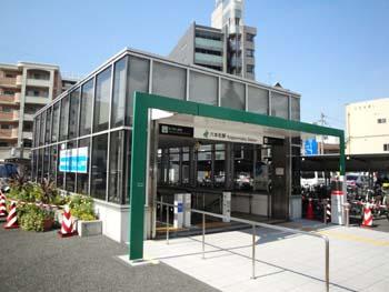 地下鉄六本松駅