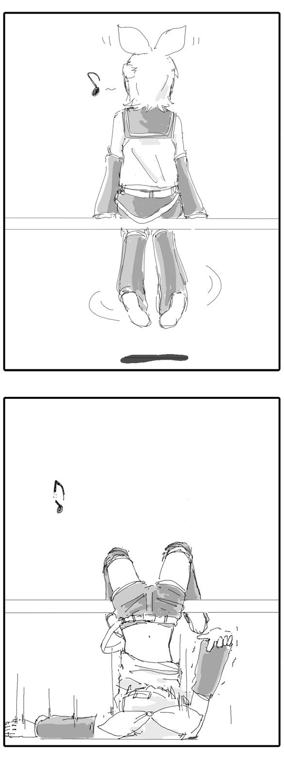 リンちゃん2コマ