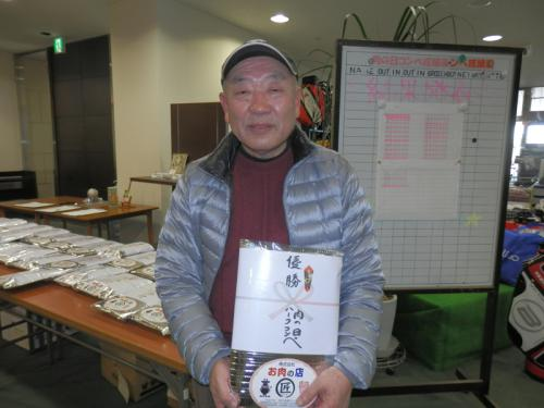 2013年2月肉コンペ優勝(足立氏)