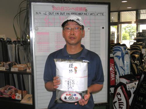 2013-5月肉コンペ優勝・田中氏