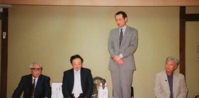 刀剣博飯田先生、秋田支部のかたがたとの懇談会
