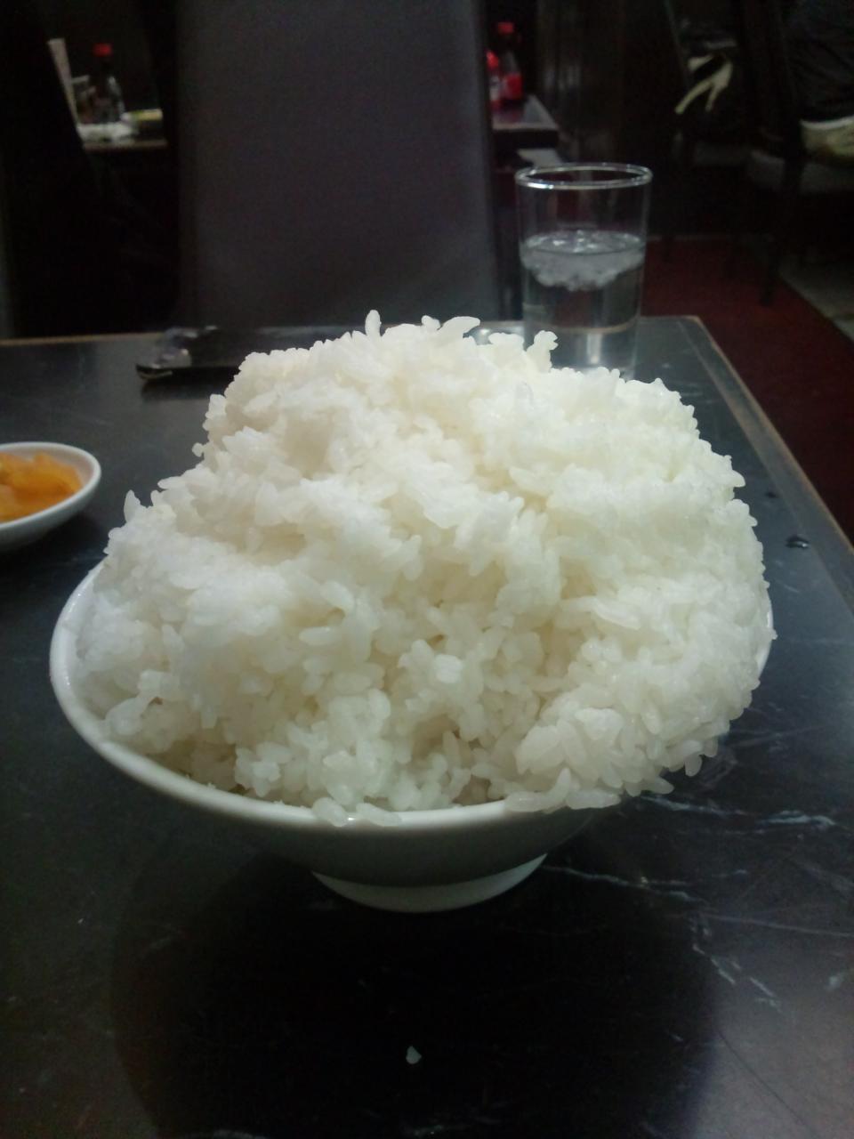登龍(肉野菜炒め定食の大盛り)