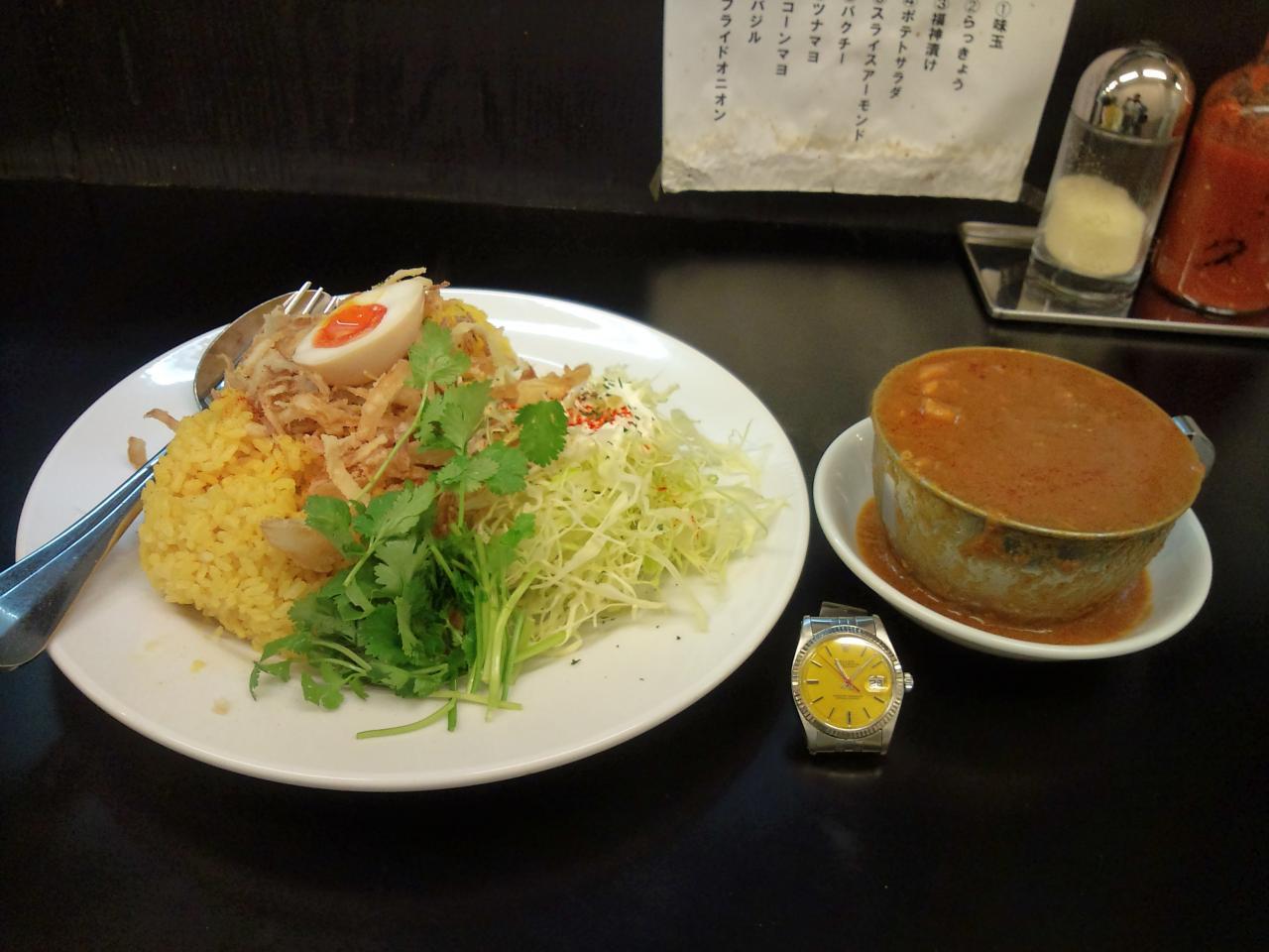 カレーは飲み物秋葉原店(鶏カレー山盛り)