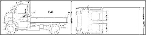 スズキ キャリィ KCリミテッド(4WD) 1