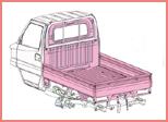 三菱 ミニキャブ 楽床ダンプ(4WD) 7