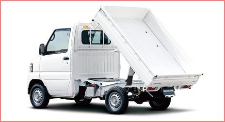 三菱 ミニキャブ 楽床ダンプ(4WD) 11