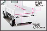 ダイハツ ハイゼット 多目的ダンプ(4WD)