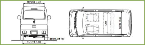 マツダ スクラム バン PA(2WD)