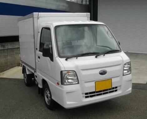 サンバー冷凍車1
