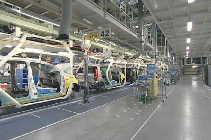 ダイハツの工場
