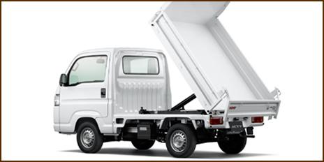 ホンダ ACTY ダンプ 大型鳥居アタック(4WD)