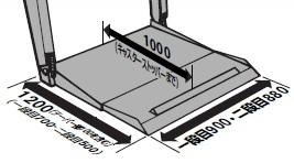 リフタープラットホーム寸法