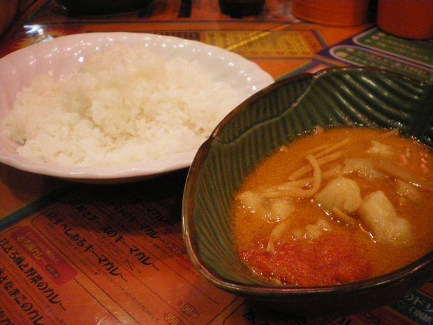 野菜カレー3.5辛
