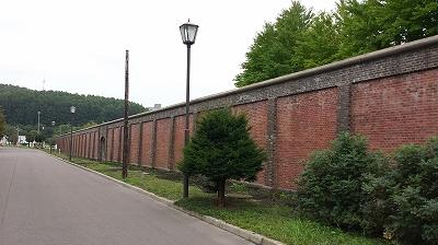 現在も利用されている網走刑務所の壁
