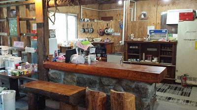 ゲストハウスクリオネのキッチン