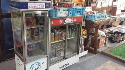 知床のクリオネ売店