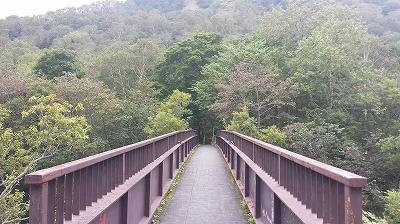 熊の湯つり橋