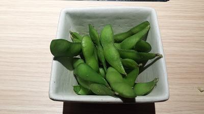 枝豆食べ放題.