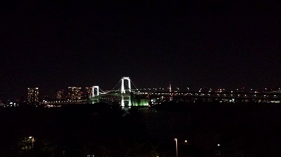 お台場から見える夜景