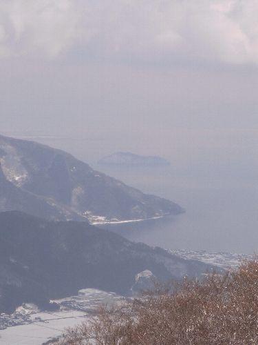 竹生島見えた!