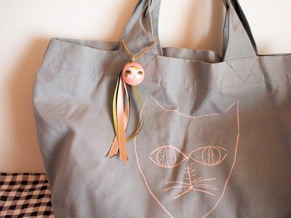 スカイツリー×ミナの猫バッグと猫たまころ