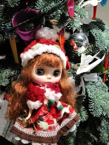 クリスマスツリーと