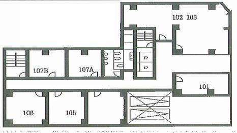 日生ビル東館 平面図