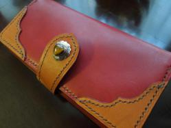 自分用の長財布