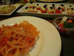 女子会飯 1