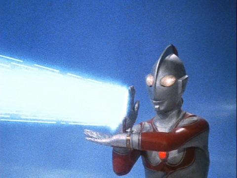 ウルトラマンジャックのスペシウム光線