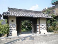 生駒邸中門