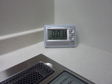 055_キッチン時計