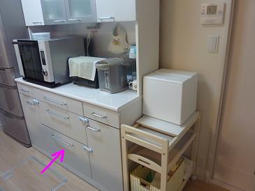057_炊飯器収納
