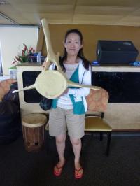 クジラ脊椎&私