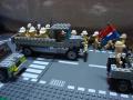 進撃する四輪自動貨車