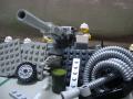 市街地における十二年式榴弾砲