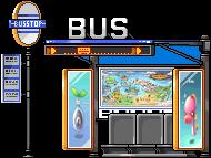 3010659バス停椅子