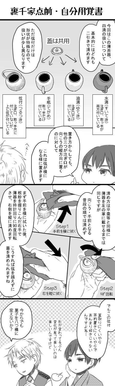 日記絵_茶道メモ1