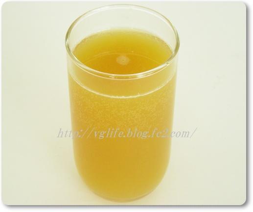 ベジライフ酵素液 オレンジ炭酸水割り