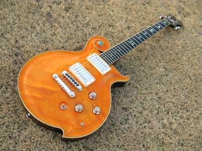 エレキギターオレンジ