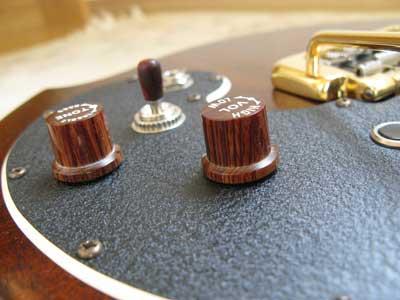ギターノブ