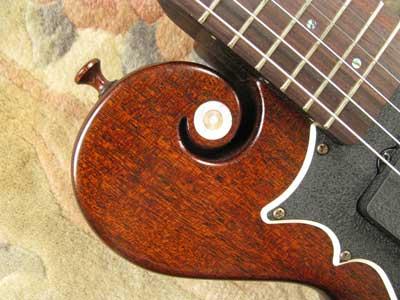 ギター木製ストラップピン