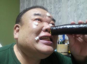 鼻から恵方巻き①