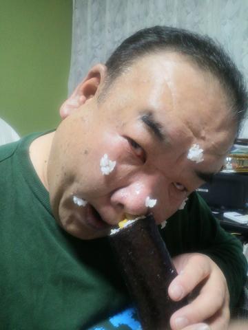 鼻から恵方巻き②