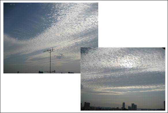 うろこ雲 051