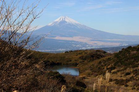 富士山と氷ヶ池