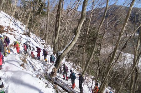 パノラマ台への登り