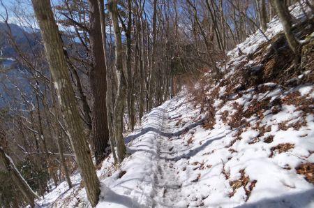 雪解けが進む