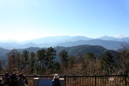 富士山から大山
