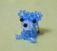 小熊‐ブルー
